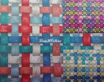 Basket weave, 1/2 yard, pure cotton fabric
