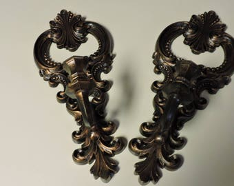 Pair of Vintage CopperCraft Guild Candle Holders Wall Sconces