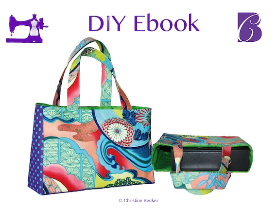 PDF Ebook Tutorial and Pattern Bag Eva, Shopper