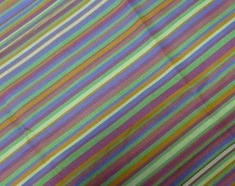 cotton multicolored stripes