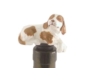 Beagle Dog Novelty Wine Bottle Stopper
