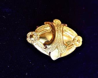 Gold Filled Fleur De Lis Pin
