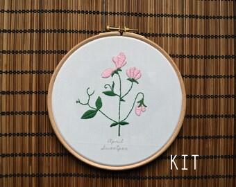 Birth Flower Kits: April Sweetpea