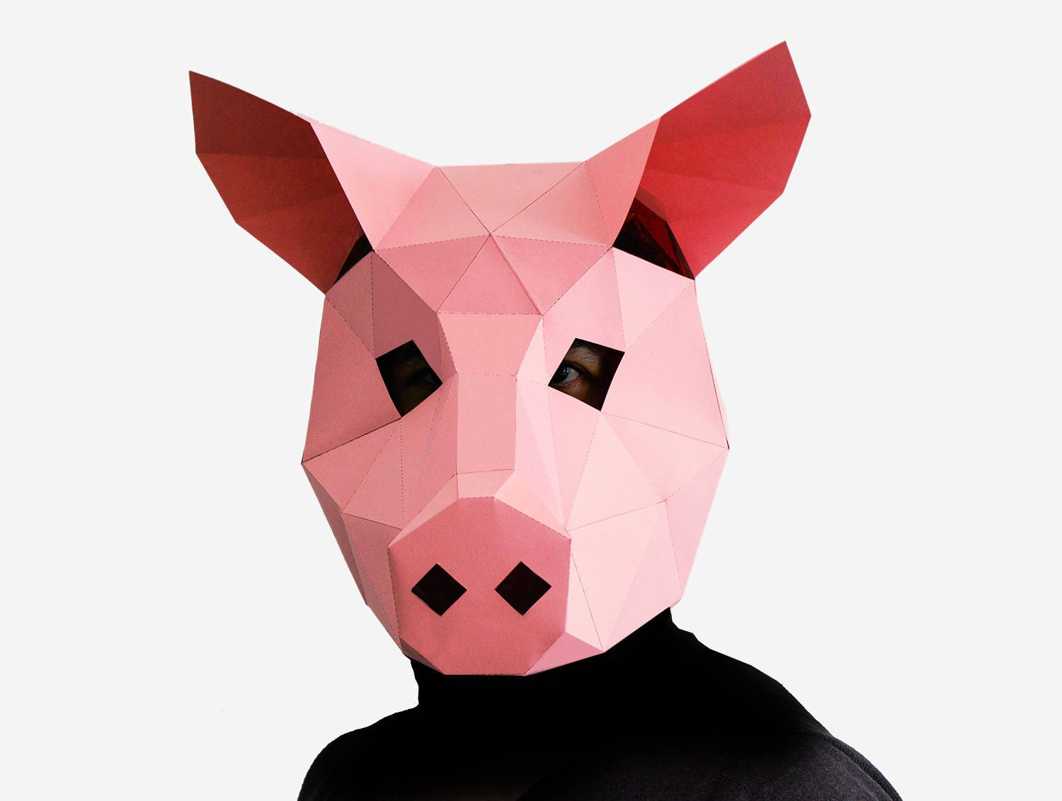 It is a graphic of Ridiculous Printable Pig Masks