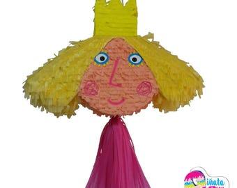 Ben and Holly Piñata. Holly Piñata. 3d