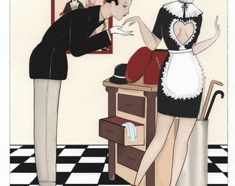 Valentine's day limited edition: The dandy and the maid