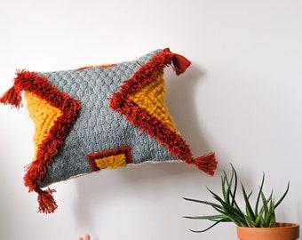 "Embroidered cushion ""Suva"""
