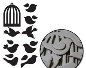 Maya Road Birds with cage