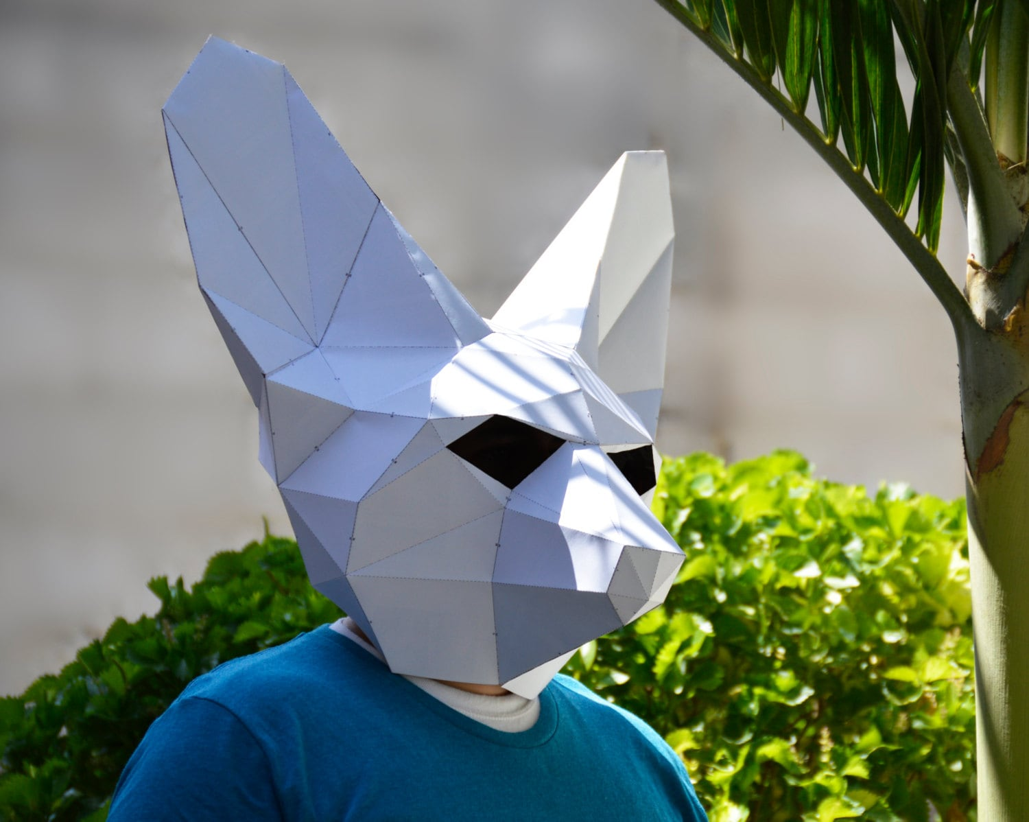 Make your own fennec fox mask fennec fox halloween mask zoom jeuxipadfo Image collections