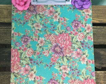 Small Field of Flowers Clipboard