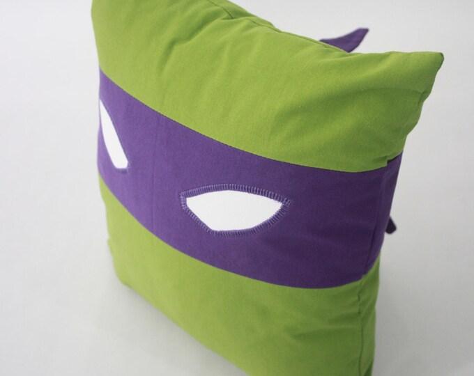 Teenage Mutant Ninja Turtles Pillow-Donatello-Teenage Mutant Ninja Turtles nursery pillow