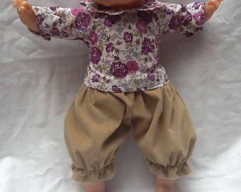 Liberty petal collar blouse purple Bliss doll 36 cm