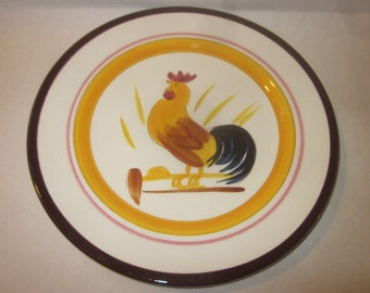 """Rooster STANGL plate 10"""""""