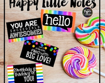 Happy Little Notes: Mini Cards and Envelopes (32 Pack)