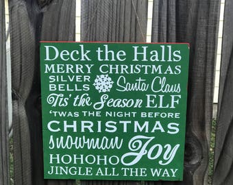 Jolly Holiday Sign