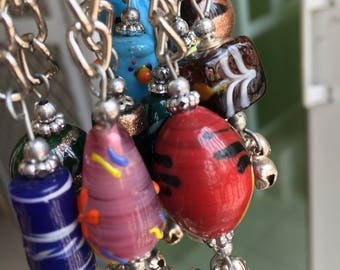 Boho handmade Keyrings (Note- please screenshot and message or message the numbers to me for your choice of keyring)