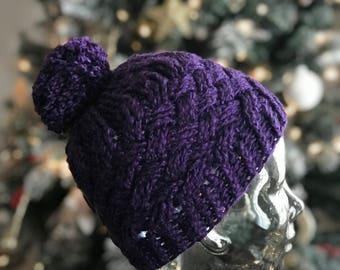 Weaving through wonderland Handmade Crochet Hat Child size READY TO SHIP gift