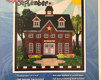 Holiday Houses Patterns - September