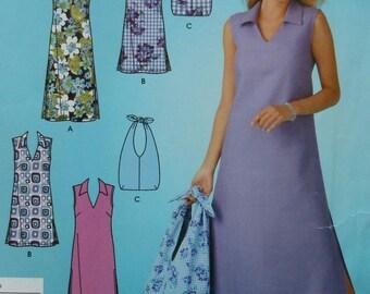 Dress Sewing Pattern Simplicity 4115 UNCUT Sizes 10-18