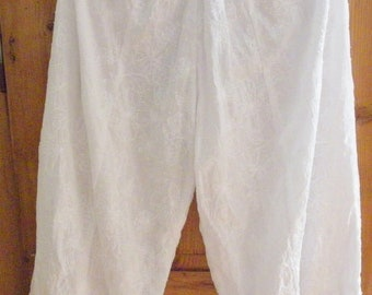 Girdle pants cotton voile