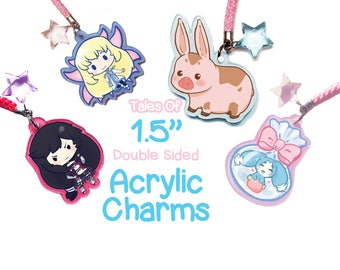 "Tales of 1.5"" Acrylic Charms"