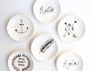 Handmade Ring Dishes
