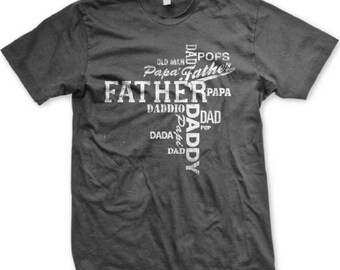 More than 1 way to call him DAD!  Happy Father's Day T-Shirt - 1950_tee