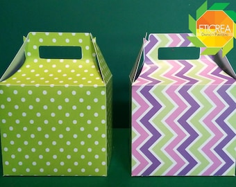 File for box type lunchbox, Box lunch, for plotter cut Silhouette cameo