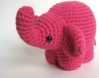 Amigurumi Crochet Elephant Pattern