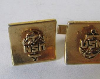 Vintage USN  Navy Cufflinks