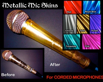 Microphone Cover Skins
