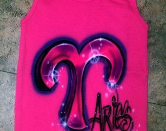 SAMPLE SALE Hot Pink Aries Tank Top