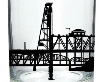 Seasons K Designs Portland, Oregon Bridges Rocks Glass