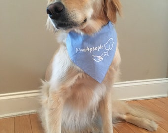 paws4people bandana - many colors available