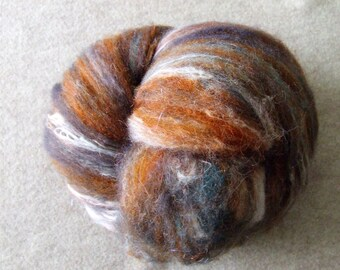 Romney wool with a silk blend Hand Dyed