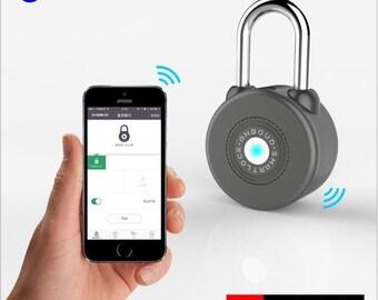 Anboud Keyless Smart Padlock Wireless Bluetooth Lock