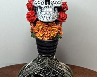 Dia de los Muertos Winestopper, Full Color