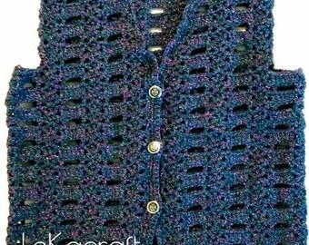 Crochet vest for kids