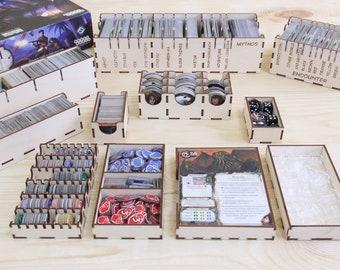 Eldritch Horror board game insert, organizer, storage solution