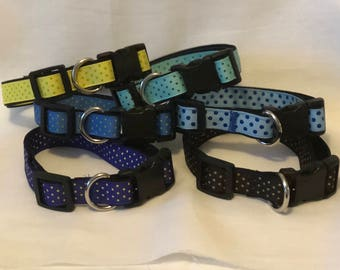 S, M Crazy for Polka Dots Dog Collar