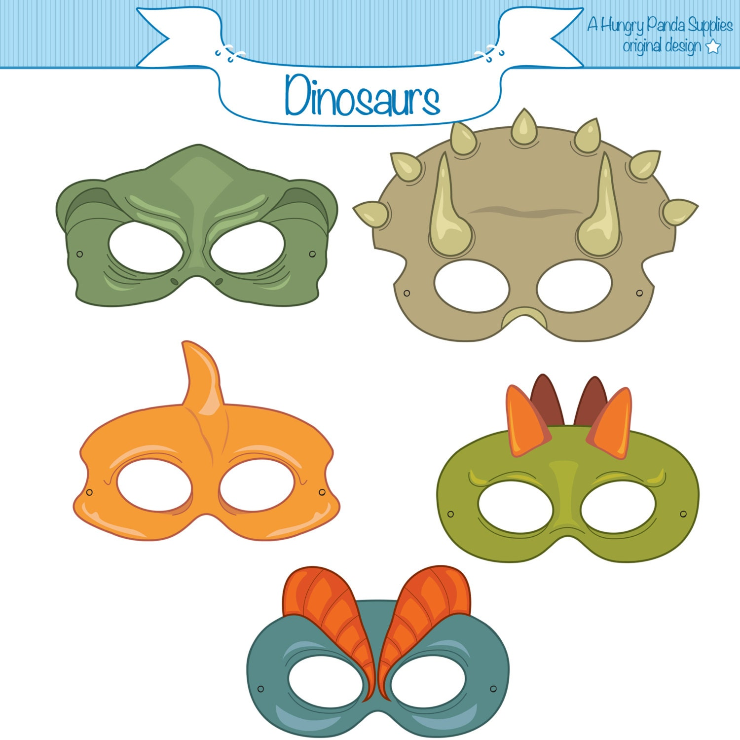 Clever image with regard to dinosaur mask printable