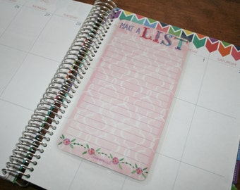 Dashboard (Size D), Coil Clip In, Laminated, Double Sided  / Erin Condren Life Planner, Limelife, Plum Paper (D04)