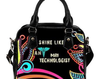 MRI Technologist Gift/MRI Technologist Handbag/MRI Technologist Graduation Gift/MRi Technologist Bag/MRi Technologists - Paisley - PP613