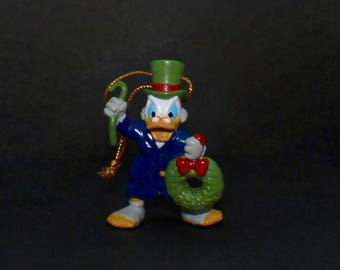 Avon & Disney's Mickey's Christmas Carol Ornament - Scrooge McDuck As Ebenezer Scrooge