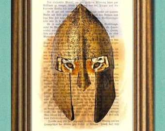 Game of Thrones THE UNSULLIED -  Dictionary art -Wall art- book page print recycled - Art Print Dictionary