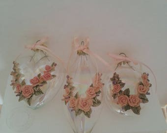 House of Lloyd – Christmas Around the World – Victorian Rose Ornaments