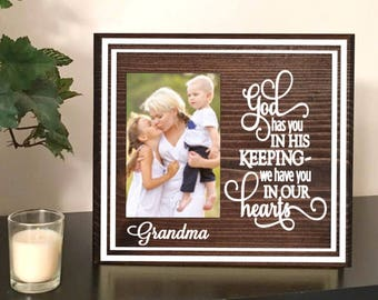 Loss of a loved one - remembrance - in memory of - heaven - sympathy gift - memorial - remembrance gift - memorial frame - heaven quote