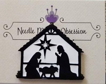 Nativity Scene Needle Minder