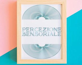 Optical Printing-Digital Poster-Sensory perception