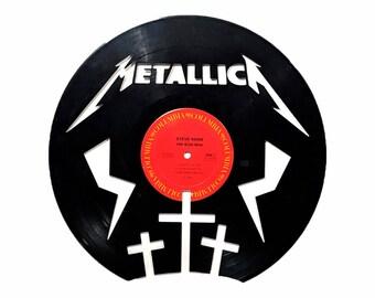Metallica Vinyl Record Art